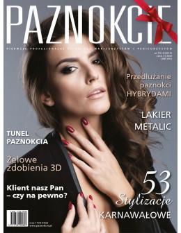 """Profesjonalne pismo dla minicurzystów i pedicurzystów """"Paznokcie"""" nr 74 (05/2015)"""