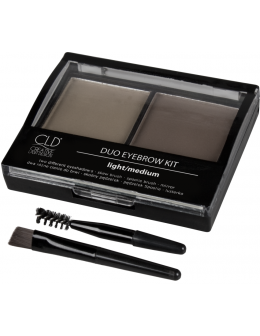 Cienie do brwi CLD Creative Eyebrow Kit - Light/Medium