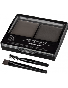 Cienie do brwi CLD Creative Eyebrow Kit - Medium/Dark
