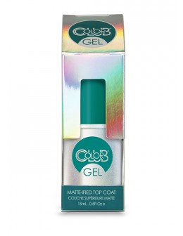 Color Club Gel Matte-Ifield Gel Top Coat 15ml