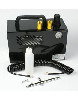 Zestaw airbrush AB731A z kompresorem