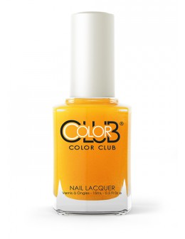 Color Club Nail Lacquer Pop Wash Collection 0.5oz - Darling Clementine