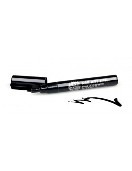 Pisak do zdobień - Nail Art Pen - 2 - Czarny