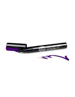 Pisak do zdobień - Nail Art Pen - 10 - Fiolet