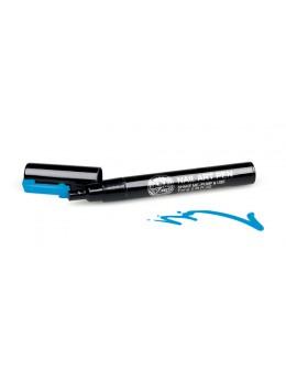 Pisak do zdobień - Nail Art Pen - 11 - Niebieski