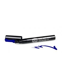 Pisak do zdobień - Nail Art Pen - 12 - Granatowy
