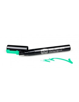 Pisak do zdobień - Nail Art Pen - 13 - Zielony