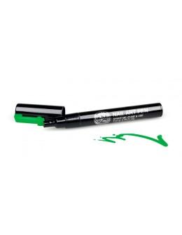Pisak do zdobień - Nail Art Pen - 14 - Zielony