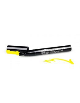 Pisak do zdobień - Nail Art Pen - 15 - Żółty