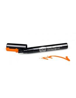 Pisak do zdobień - Nail Art Pen - 16 - Pomarańczowy