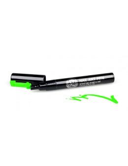 Pisak do zdobień - Nail Art Pen - 18 - Zielony
