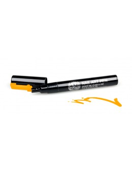 Pisak do zdobień - Nail Art Pen - 19 - Pomarańczowy