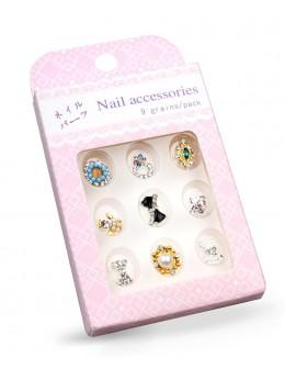Biżuteria na paznokcie Nail Accessories 9szt./op nr 1