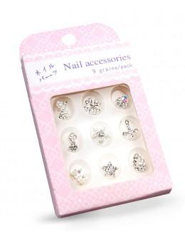 Biżuteria na paznokcie Nail Accessories 9szt./op nr 2