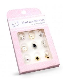 Biżuteria na paznokcie Nail Accessories 9szt./op nr 3
