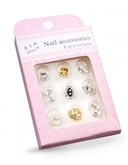 Biżuteria na paznokcie Nail Accessories 9szt./op nr 4