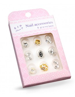 Nail Accessories 9 grains/pack no. 4