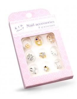 Biżuteria na paznokcie Nail Accessories 9szt./op nr 6