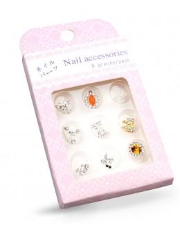 Biżuteria na paznokcie Nail Accessories 9szt./op nr 8