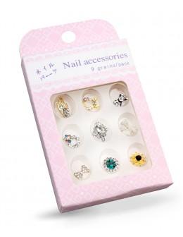 Biżuteria na paznokcie Nail Accessories 9szt./op nr 9