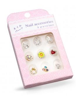 Biżuteria na paznokcie Nail Accessories 9szt./op nr 10