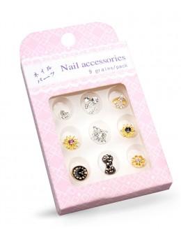 Biżuteria na paznokcie Nail Accessories 9szt./op nr 11