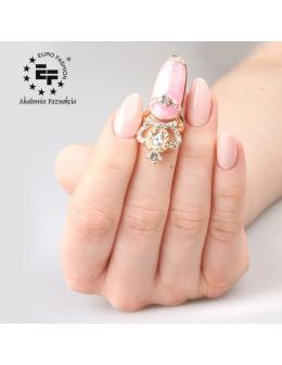 Nail Ring nr 016 - gold