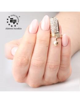 Nail Ring nr 031 - gold