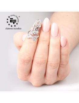 Pierścionek na paznokieć Nail Ring nr 020 - srebrny