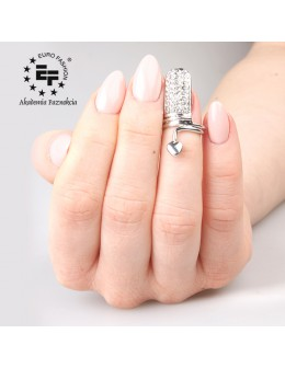 Pierścionek na paznokieć Nail Ring nr 031 - srebrny
