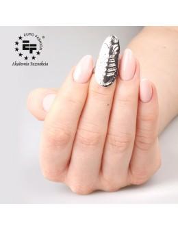 Nail Ring no 032 - silver