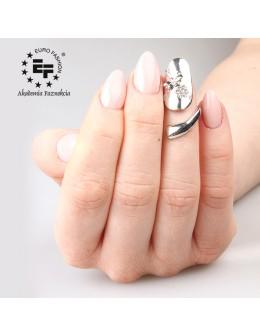 Nail Ring no 051 - silver