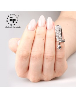 Nail Ring no 053 - silver
