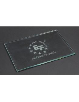 Paleta szklana do farbek EF Glass Artist Palette