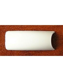 ELATION White Nail Tips - białe tipsy do French Manicure 50szt. nr 8 - uzupełnienie