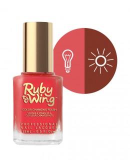 Lakier zmieniający kolor Ruby Wing Nail Lacquer 15ml - Cypress
