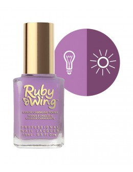 Lakier zmieniający kolor Ruby Wing Nail Lacquer 15ml - Fate