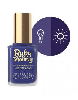 Lakier zmieniający kolor Ruby Wing Nail Lacquer 15ml - Eclipse
