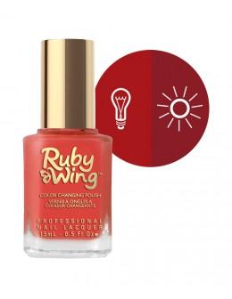 Lakier zmieniający kolor Ruby Wing Nail Lacquer 15ml - Horizon