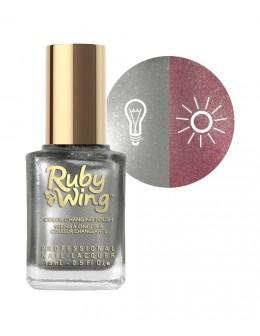 Lakier zmieniający kolor Ruby Wing Nail Lacquer 15ml - Meadow