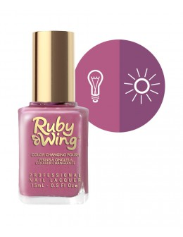Lakier zmieniający kolor Ruby Wing Nail Lacquer 15ml - Mystic