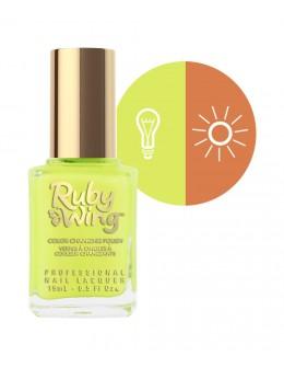 Lakier zmieniajacy kolor Ruby Wing Nail Lacquer 15ml - Electric Firefly