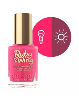 Ruby Wing Nail Lacquer 0.5oz - Poppy