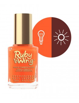 Lakier zmieniajacy kolor Ruby Wing Nail Lacquer 15ml - Summer Love