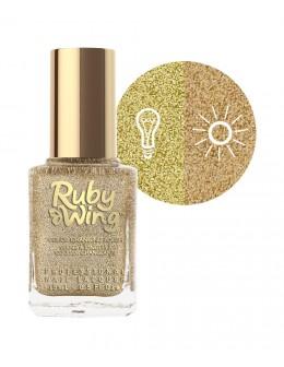 Lakier zapachowy zmieniający kolor Ruby Wing Nail Lacquer 15ml - Sunflower