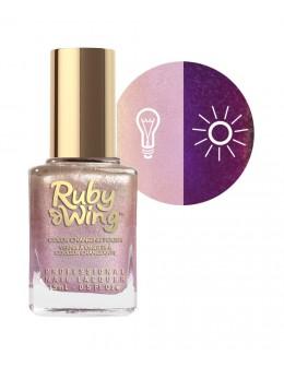 Lakier zapachowy zmieniający kolor Ruby Wing Nail Lacquer 15ml - Doux