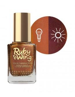 Lakier zapachowy zmieniający kolor Ruby Wing Nail Lacquer 15ml - Cinnamon Bun