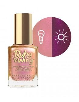 Lakier zapachowy zmieniający kolor Ruby Wing Nail Lacquer 15ml - Sweet Cream