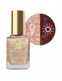 Ruby Wing Scented Nail Lacquer 0.5oz - Chocolate Mousse