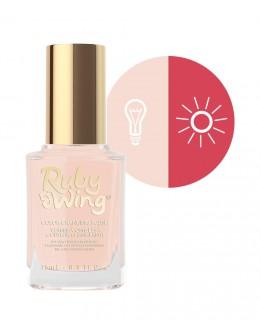 Lakier zmieniający kolor Ruby Wing Nail Lacquer 15ml - Summer Gardenia